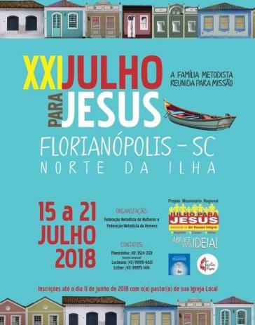 Julho para Jesus