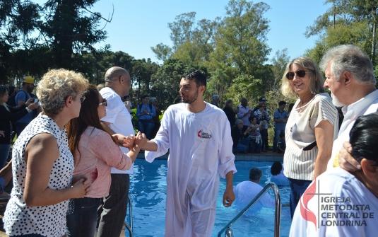 Foto Batismo Julho 2017
