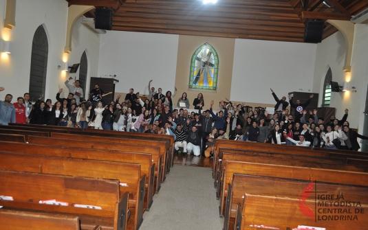 Culto Distrital dos Jovens