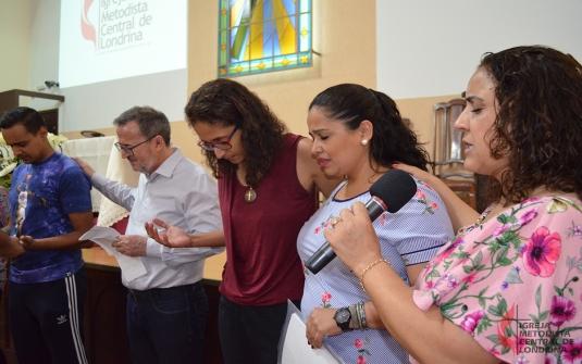 Foto Batismo Dezembro 2018 - Entrega Certificados