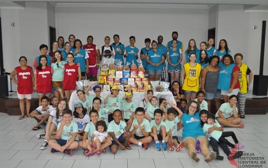 Foto Saída Missionária do King`s Kids