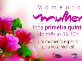 03 de Maio – Momento Mulher