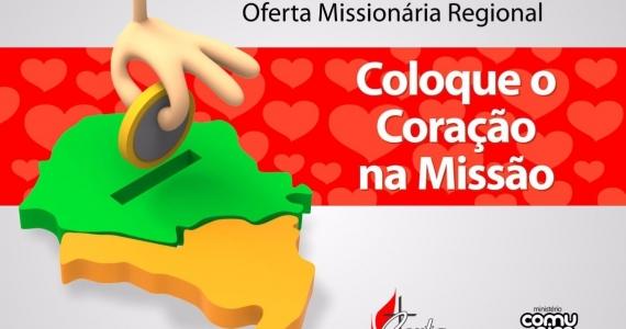 08 de Outubro – Oferta Missionária Regional